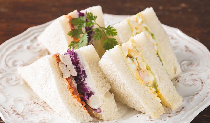 2種のサンドイッチ